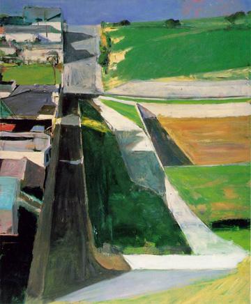 Richard Diebenkorn - Cityscape I